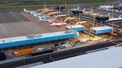Link tussen B- en C-pier gebouwd op Schiphol