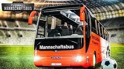 Fernbus Simulator: MANNSCHAFTSBUS #1: Im MAN Lion's Coach unterwegs für die Bundesliga!