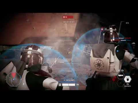 REPUBLIC DEFENSE OF THEED - Star Wars Battlefront 2 FULL ROUND