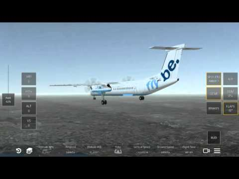 Infinite Flight. Flybe in Heathrow?