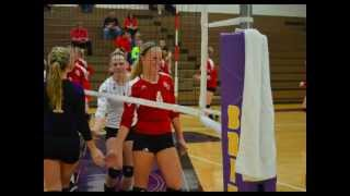 Olivet College Volleyball 2012