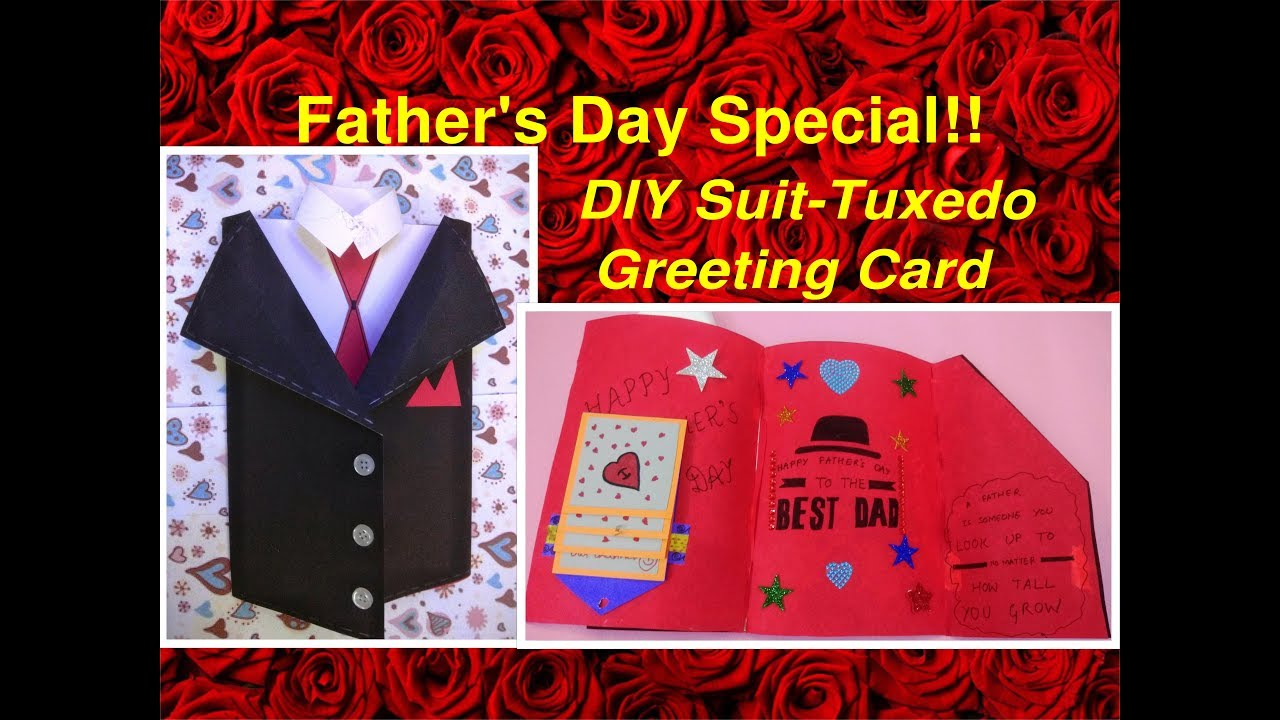 fathers day tuxedo card best gifting idea for s day diy suit tuxedo 4451