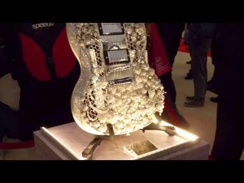 2 Million Dollar Guitar La Guitarra Mas Cara Del Mundo