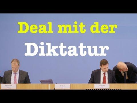 28. August 2017 - Komplette Bundespressekonferenz