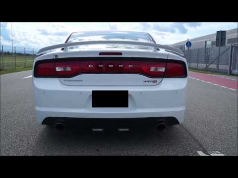 2012 Dodge Charger SRT8 stock exhaust vs Corsa Sport
