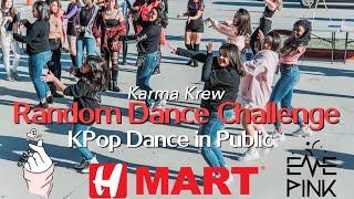[KPOP IN PUBLIC CHALLENGE] Random Dance Challenge HMart Event 2019 || Karma Krew