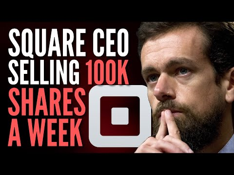 Square Stock Update - Jack Dorsey & Insiders Selling + SQ Earnings Prediction