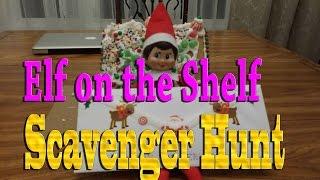 Elf on the Shelf - Scavenger Hunt