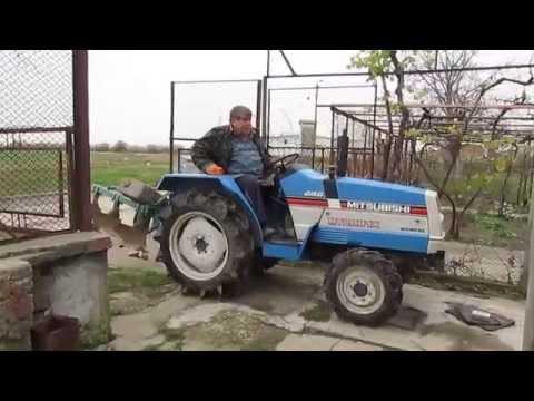 Mitsubishi D2050 FD compact tractor | FunnyDog TV