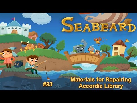 Seabeard Playthrough Part 93 - Materials for Repairing Library (iOS/Android) No Commentary