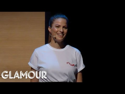 One Model Exposes Sexual Abuse in the Fashion Industry | Glamour Women of the Year 2017