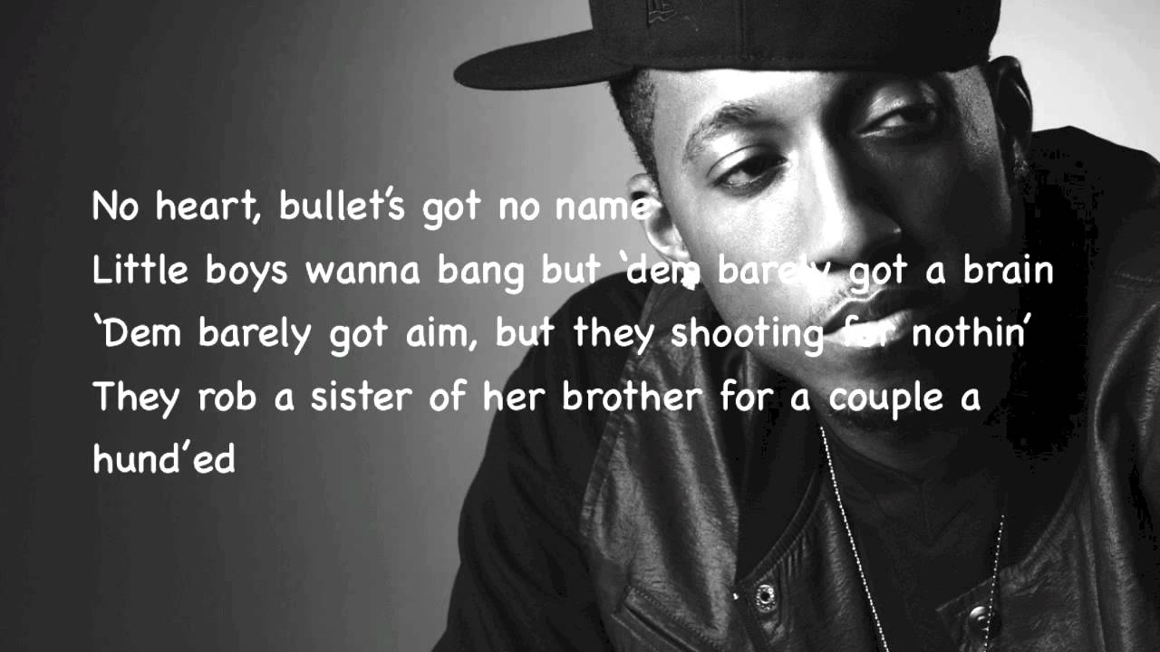 Violence by Lecrae (Lyrics On Screen)