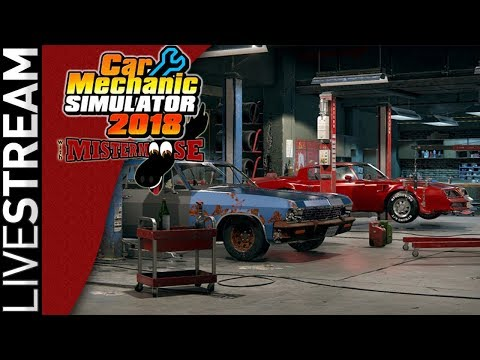 Car Mechanic Simulator 2018 | Dodge Charger Restore | From 8/4 LiveStream