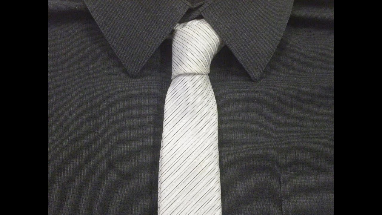 How to tie a single knot for your necktie animated youtube youtube premium ccuart Choice Image