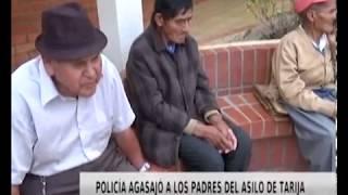 POLICÍA AGASAJÓ A LOS PADRES DEL ASILO TARIJA