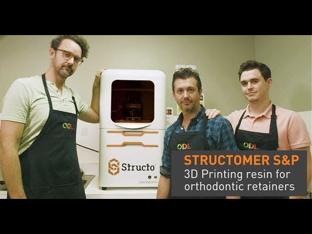 Structomer S&P with ODL Laboratory - Non-stick orthodontic 3D printing resin