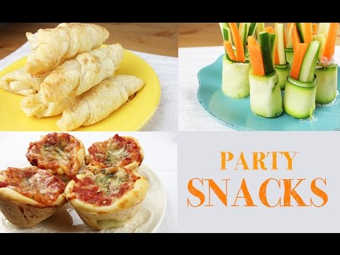 Party SNACK IDEAS | Easy and fast to make