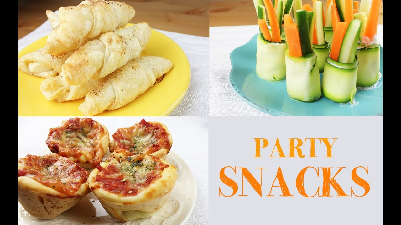 Party snack ideas easy and fast to make youtube forumfinder Choice Image