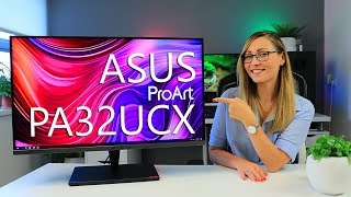 Testing the World's First MiniLED Monitor! - ASUS ProArt PA32UCX Review