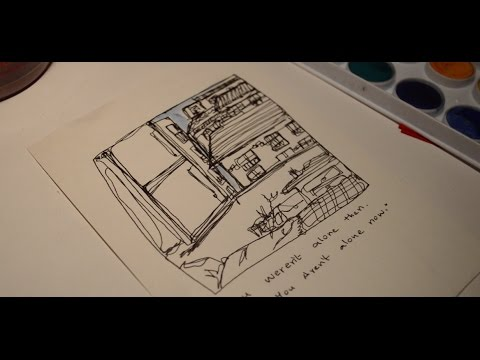 Continuous Contour Line Drawing Definition : Continuous line drawing speed edit youtube