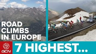 7 Highest Climbs In Europe – Europe's Most Epic Climbs By Bike