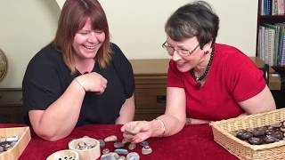 How to paint and work with stones in counselling