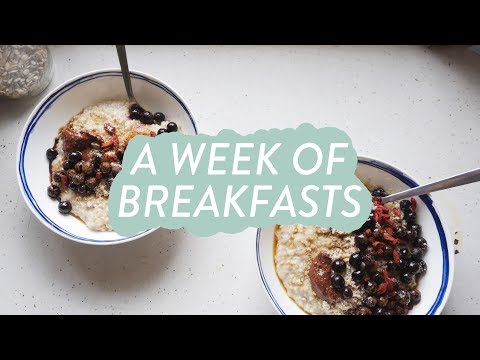 A Week of Breakfasts