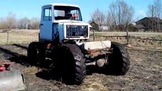 Самодельный трактор Боливар1