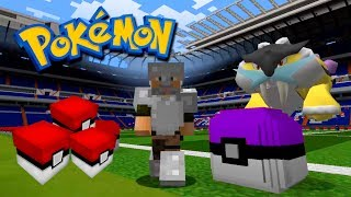 BATALLA CONTRA POKEMON LEGENDARIO!! POKEMON LUCKY BLOCKS