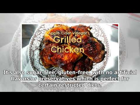 Apple Cider Vinegar Marinade: Cook Fork Tender Grilled Chicken