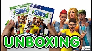 The Sims 4 Deluxe Party Edition (Xbox One/PS4) Unboxing