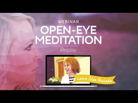 "Webinar ""Open-Eye Meditation"" with Laura Silva"