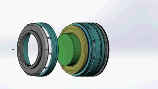 Разборка СГУ центробежного компрессора 7V-3