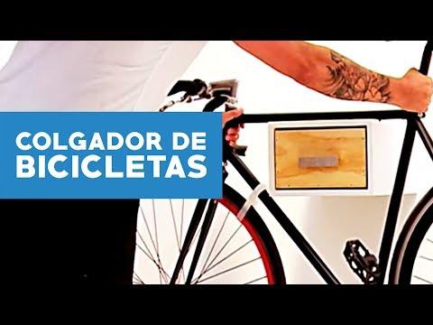 cmo hacer un colgador de bicicletas