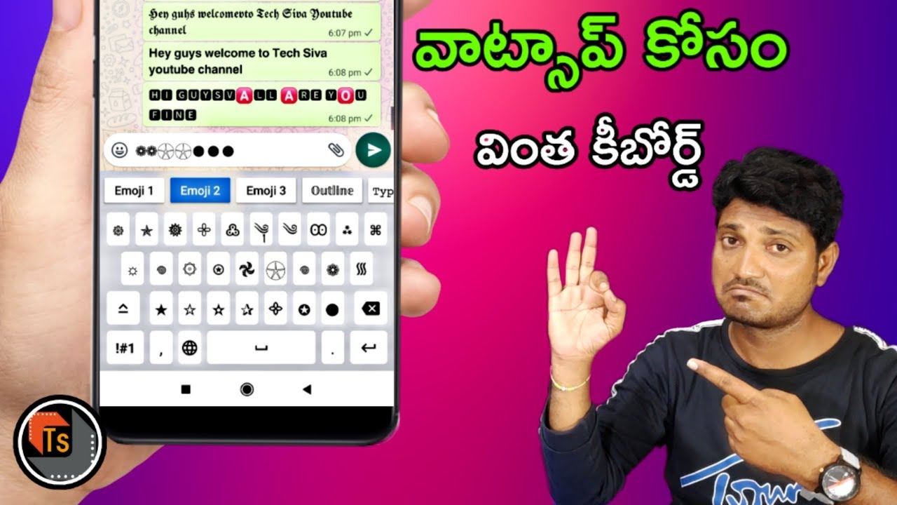 Download AA Fonts App Features And Review   Amazing Keyboard Application To Type Different Fonts   Tech Siva