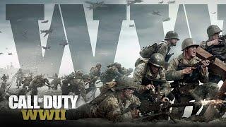 PS4 //Call of duty WWII//Компания-Сложность ветеран
