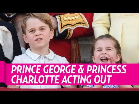 Every Time Prince George And Princess Charlotte Embarrassed Their Parents