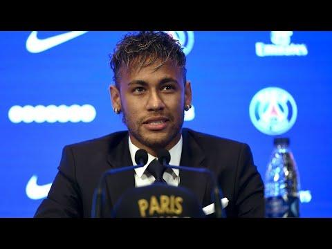 REPLAY - Neymar à Paris : Revivez la 1ère conférence de presse de Neymar au PSG