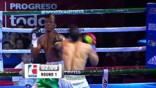 Mexico Guerreros v Morocco Atlas Lions - World Series Of Boxing Highlights
