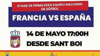 Stage de Primavera Sófbol. Francia vs España