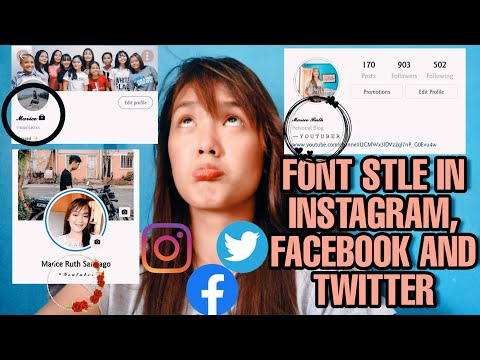 HOW TO CHANGE FONT STYLE IN INSTAGRAM, FACEBOOK & TWITTER!