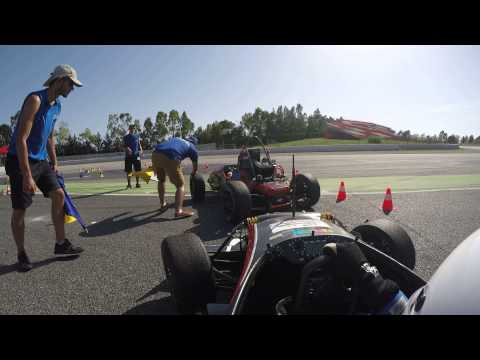 Formula Student Spain 2015 Endurance: DHBW Engineering with the eSleek15