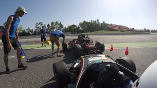 Formula Student Spain 2015 Endurance: DHBW Engineering with the eSleek15 thumbnail