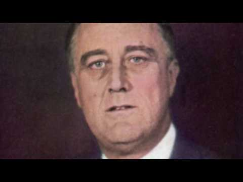 Franklin D. Roosevelt 1933 Inaugural Address Famous Quote Only Thing We Have To Fear Is Fear Itself