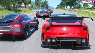2010 Ferrari 599xx Forza Horizon 4 - Best Cars Wallpaper