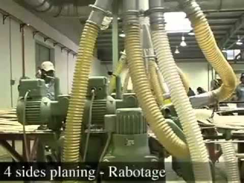 Quy Trình Sản Xuất Ván Sàn Tre (bamboo flooring manufacturing process)