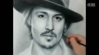 Sketch Johnny Depp.flv
