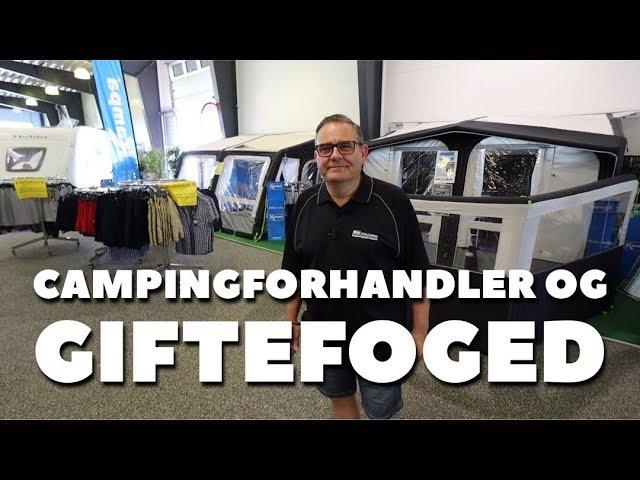 Campingforhandler og Giftefoged