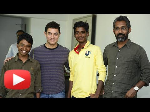 Aamir Khan Meets Marathi Movie Fandry's...