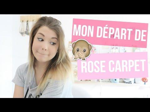 MON DÉPART DE ROSE CARPET ♡ VLOGMAI